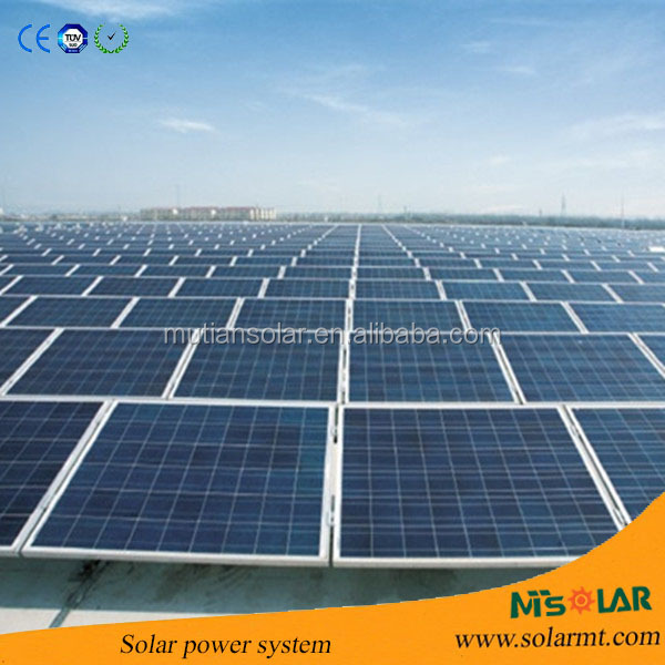 Rooftop or Ground Mounting Solar home lighting system,solar energy system price,Solar water pump system