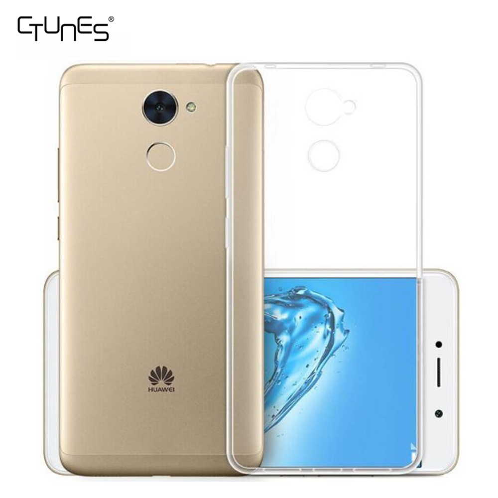 sale retailer b7d69 92f28 For Huawei Y7 Prime Case,Clear Ultra Thin Transparent Soft Gel Tpu Silicone  Case Cover For Huawei Y7 Prime / Enjoy 7 Plus - Buy For Huawei Y7 Prime ...