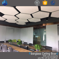 fiberglass wool celotex acoustical ceiling tile with ISO certificate