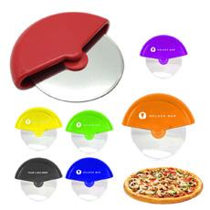 新しいパーソナライズされたコンパクトポータブル家庭用キッチンシェフセクタープラスチックフレームステンレス鋼の刃輪ピザカッター