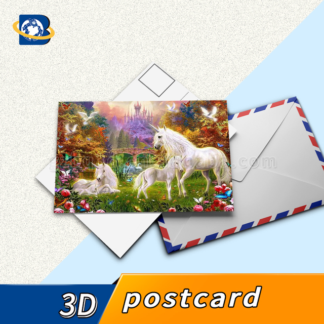 China 3d greeting card printing wholesale alibaba customized 3d postcard printing 3d lenticular greeting card m4hsunfo