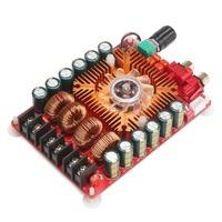 TDA7498E 2X160W Dual Channel Audio Amplifier Board, Support BTL Mode 1X220W Single Channel, for Car Vehicle Computer