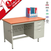 Modern wood and metal office stationary / used office desk for sale