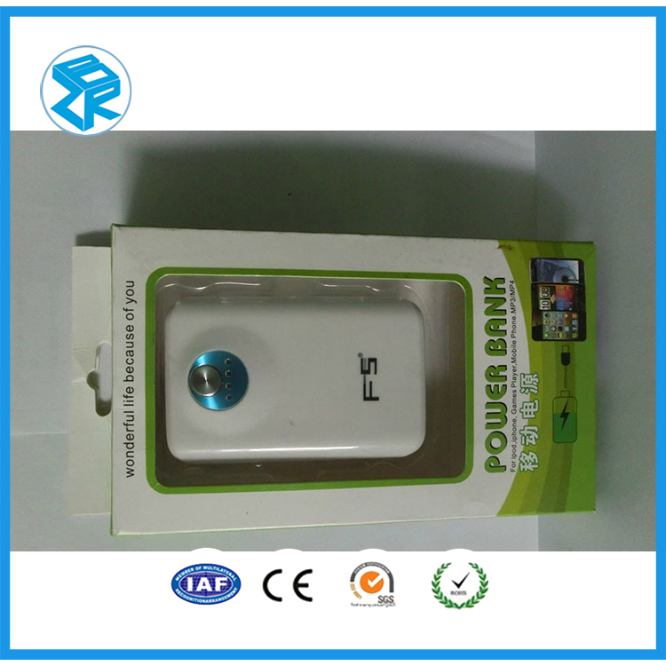 Mobile Power Electronic Blister Packaging Box