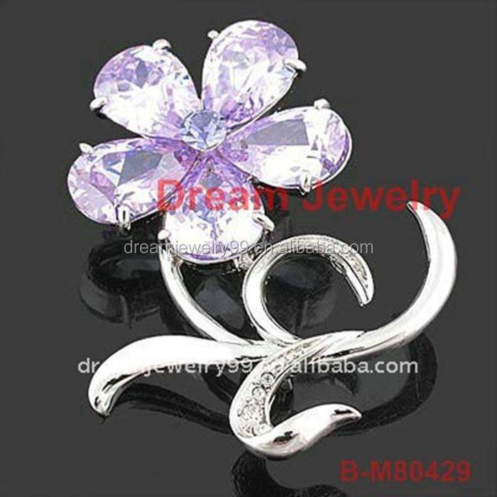 Dubai Brooch Cheap Rhinestone Brooches For Wedding In Bulk Flower ...