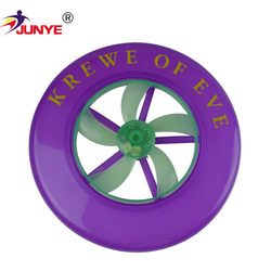 Promotional various durable using silicone custom indoor frisbee with logo for toy or pet