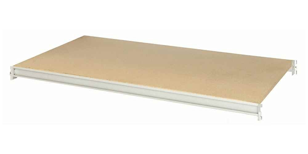 """Bulk Rack Additional Particle Board Level Size: 48"""" W x 24"""" D"""