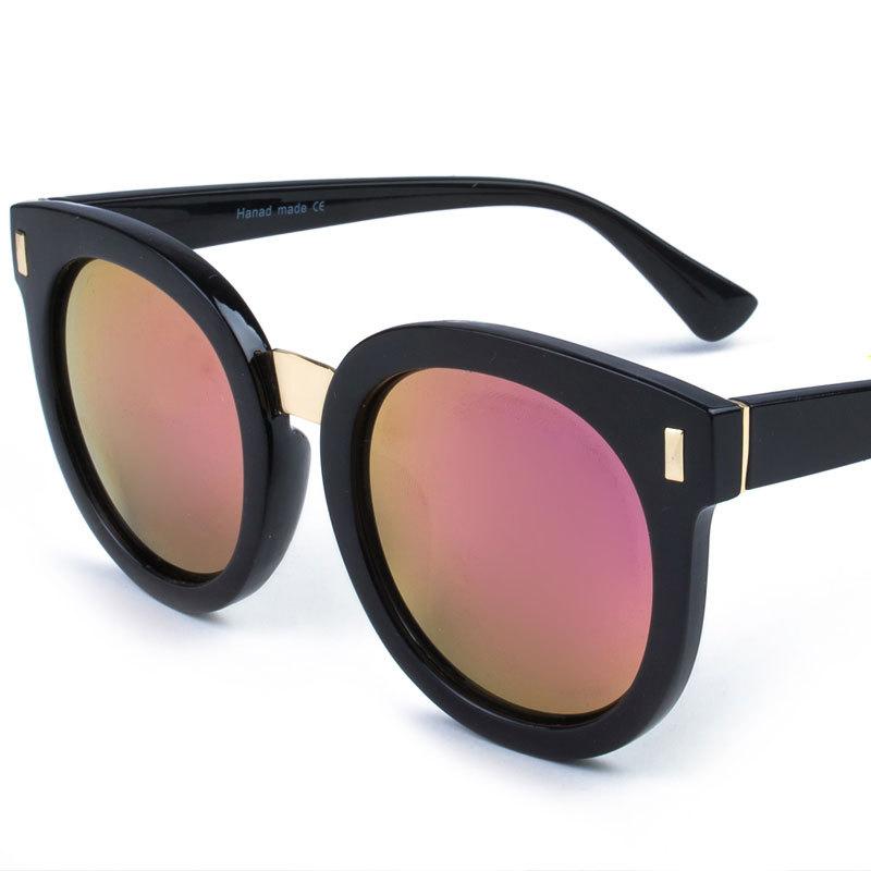 c4979095511f Get Quotations · 2015 Women Brand Designer Oval Oversize Frame Mirror  Sunglasses Men Sun glasses Oculos de sol Feminino