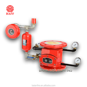 Firefighting supplies wet alarm check valve