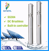 solar water pump for drip irrigation , 1.1kw 1.5hp submersible solar water pump