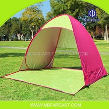 2015 New fashion arriving folding custom pink camping tent