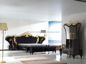 Qasr Black New Modern Classic Turkish Bedroom Furniture Set - Buy Turkish  Bedroom Furniture Set,Modern Furniture,Antique Bedroom Furniture Set  Product ...