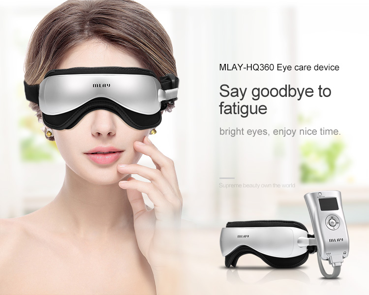High quality magnetic glasses electrical relax eye massager with vibration