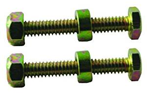 Oregon (2 Pack) 80-748 Snow Thrower Shear Bolt For Noma 301172, 1-3/4-Inch Length 1/4/20 Thread by Noma