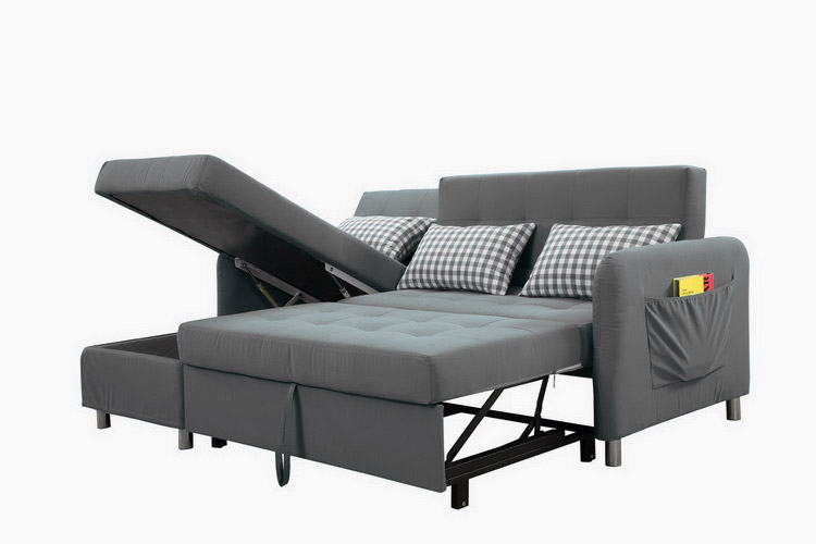 Dg Good Quality Sectional Corner L Shape Sofa Cum Bed With Storage - Buy L  Shape Sofa Cum Bed,Sectional Sofa Bed,Corner Sleeper Couch Product on ...