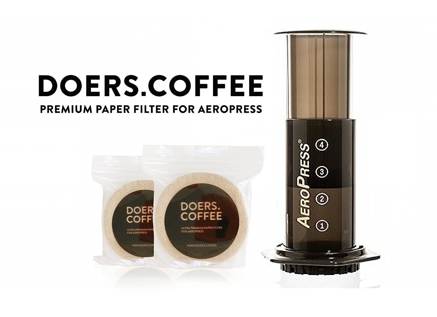 Cheap Coffee Filters 6 Find Deals On Line At Hario Paper Filter Vcf 02 100m Get Quotations 500 Count Premium For Aeropress Doers Disposable All