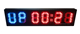 6 digit digital wall red led countdown timer with top quality