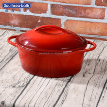 Ceramic Coated Cast Iron Pot /Cast Iron Parini Cookware NH-OC08