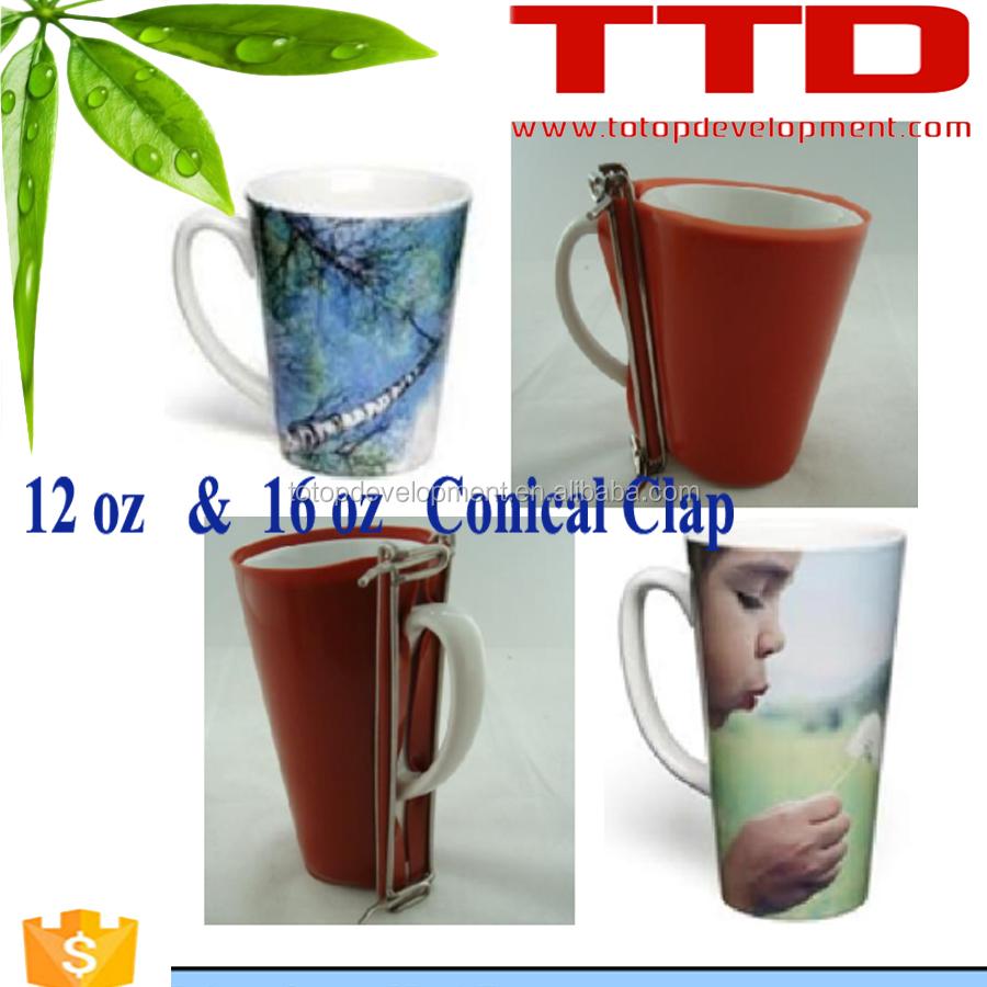 Tazas accesorio abrazadera 3d m quina de prensa de calor for Capacidad taza cafe con leche