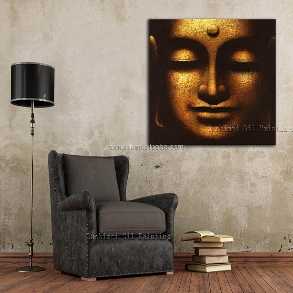freies verschiffen ausgezeichnete qualit t eindruck indische buddha portr t lgem lde auf. Black Bedroom Furniture Sets. Home Design Ideas