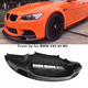 Carbon fiber front bumper lip for BMW E92 93 M3