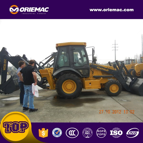 Changlin Telescopic Boom Loader Backhoe Loader 630A in China