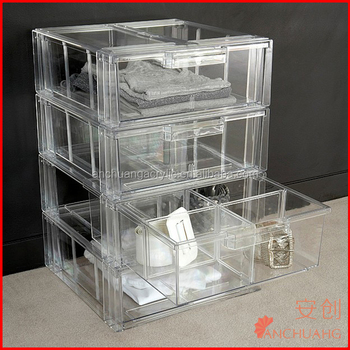 Acrylic Sweater Accessory Storage Drawer Buy Acrylic