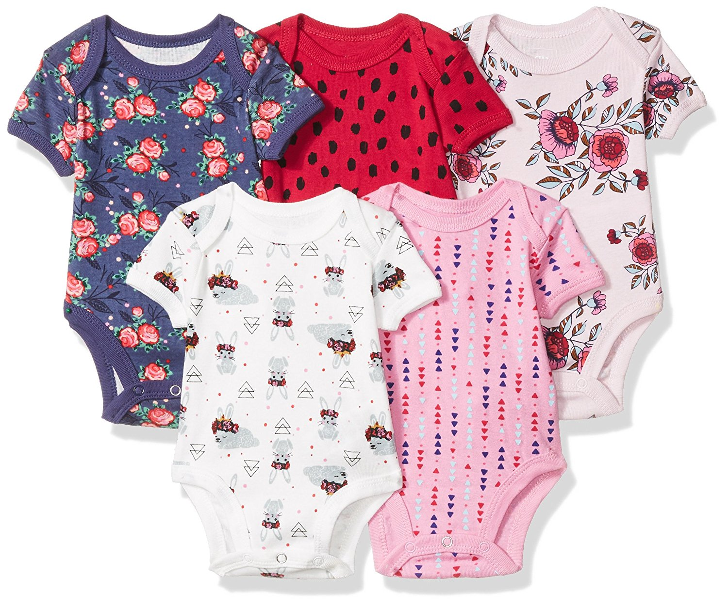 Rosie Pope Baby 5 Pack Bodysuits More colors Available!