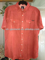 mens pigment dyed shirt V645
