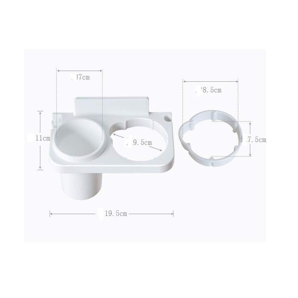 Hairdryer bracket plastic blow frame, bathroom rack, air duct rack, bathroom storage rack, bathroom wall hanging,B