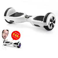 "6.5"" wheel lithium battery balance electric hoverboards with bluetooth"