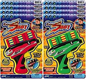 Ja-Ru Cyber Disk Shot Party Favor Bundle Pack