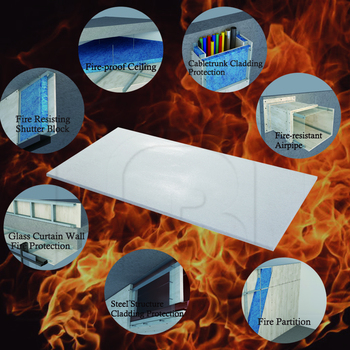 Fire resistant House siding materials 90min Fire rated Cement fiber board