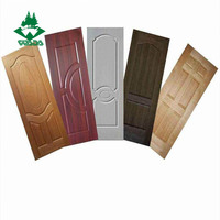 mold 3mm melamine door skin hdf door skin used for interior door