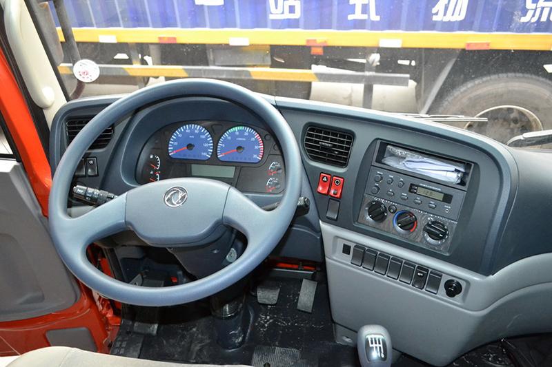 Dongfeng 4x2 7.7m van ราคากล่อง Cargo รถบรรทุก