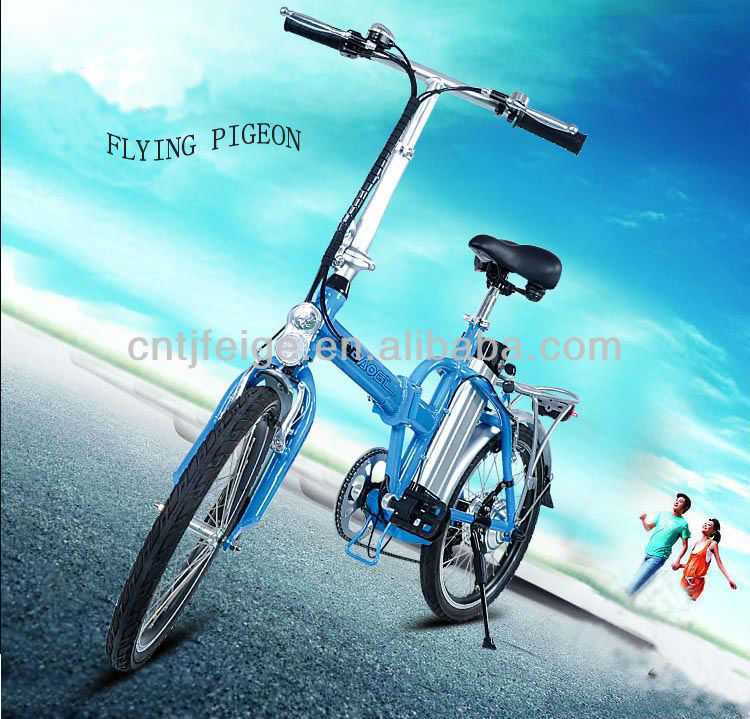 "Shimano 6speed competitive price 20"" electric folding bicycle"