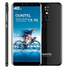 Versand Am selben Tag OUKITEL C8 2 GB + 16 GB 5,5 zoll Android 7.0 MTK6737 Quad Core