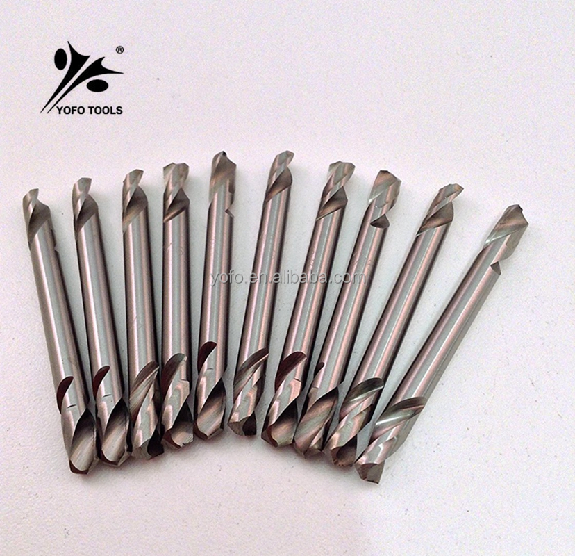 High Speed M2 Double Ended Body Drill Bits/Double End Body HSS Drill