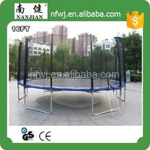 16ft trampolin fabrica/cama elástica/resortes