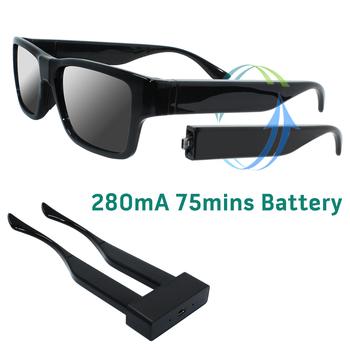 1080 P HD Mini DV DVR Câmera de Vídeo Óculos De Sol Homem Lente Pinhole  Filmadora caa0c82d6f