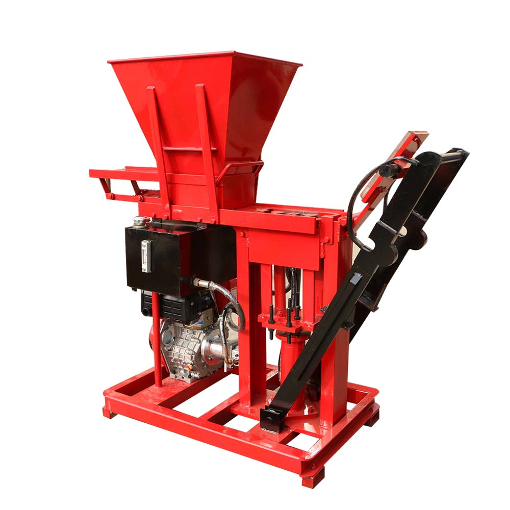 small clay brick block making machine in kerala