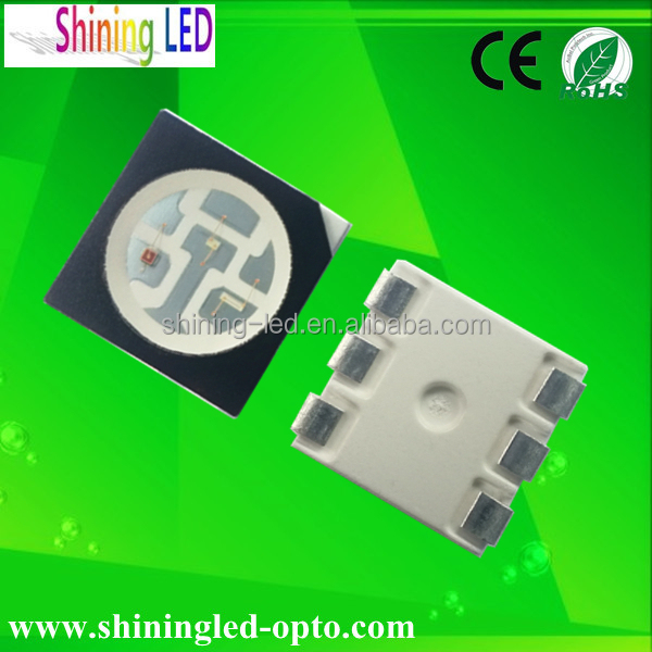 Diodes Nice 50pcs Smd5050 Led Smd 5050 Rgb Chip Led Plcc-6 Tricolor Red Green Blue Led Light Emitting Diode Lamp Smt Beads Orders Are Welcome.