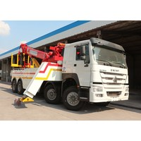 SINOTRUK HOWO 50 ton rotator wrecker for sale 60 ton rotator tow truck for sale
