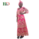 H & D 2018 Sale Factory Price Fashion Colorful Long Skirts Ladies Kaftans African Attire For Wholesale