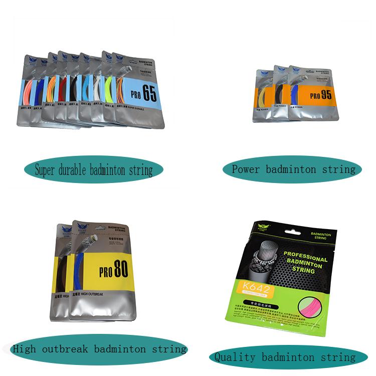 2018 Rushed Sale quality durability  0.70mm  nylon racket string badminton for racket badminton