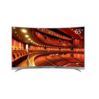 Factory Hot Selling Big Size 65 inch Curved LED TV Screen Television 4K Smart TV