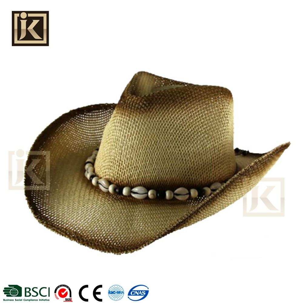 JAKIJAYI brands cowboy hats sombrero custom band unisex character straw cowboy  hat e0381e7286d7