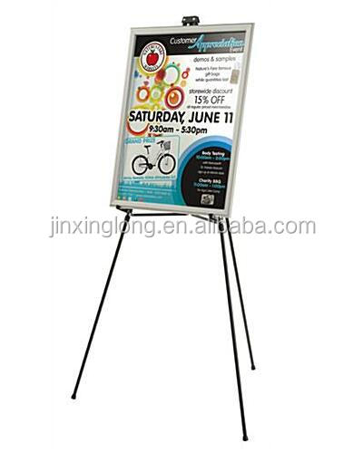 Light weight portable aluminum painting display easel stand