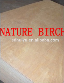 18mm Bintangor Birch Okoume Poplar faced commercial plywood