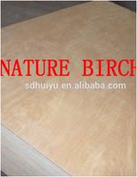 18mm Bintangor Birch Okoume Poplar faced commercial plywood